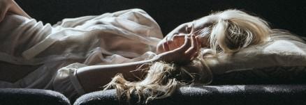 BlondSleeping